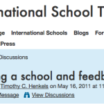 Exiting an international school and giving feedback: How honest should you be?