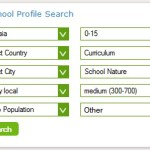 Using the School Profile Search feature on International School Community: Search Result #11