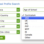 Using the School Profile Search feature on International School Community: Search Result #12