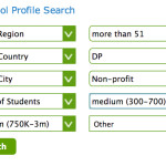 Using the School Profile Search feature on International School Community: Search Result #14