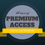 Comments Promotion: ALL Members Have Free Premium Membership for 48 Hours!