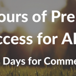 48 Hours Of Unlimited Access For All + Last Two Days For Comments Contest