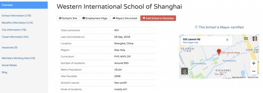 International School Community